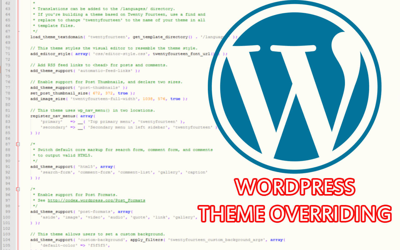wordpress-theme-overriding