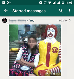 Stared Messages WhatsApp