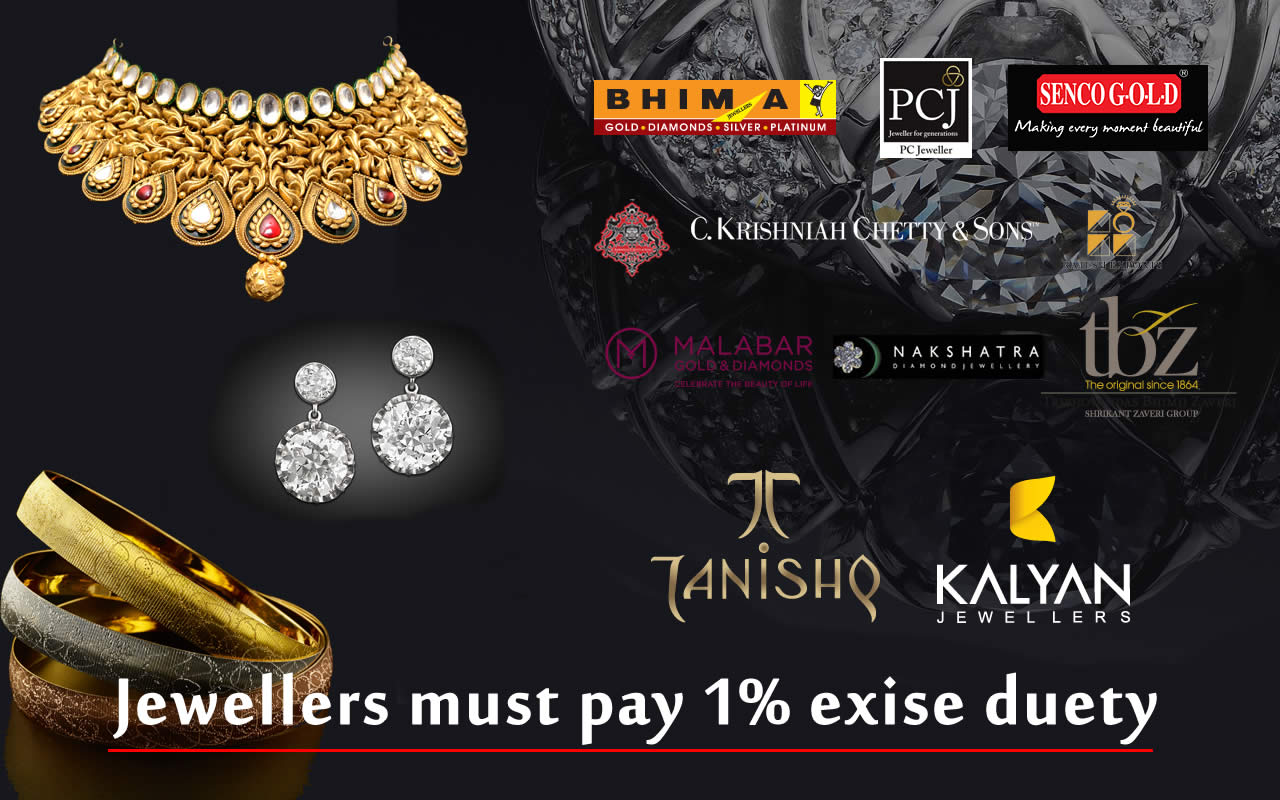 Why jeweller must pay excise?