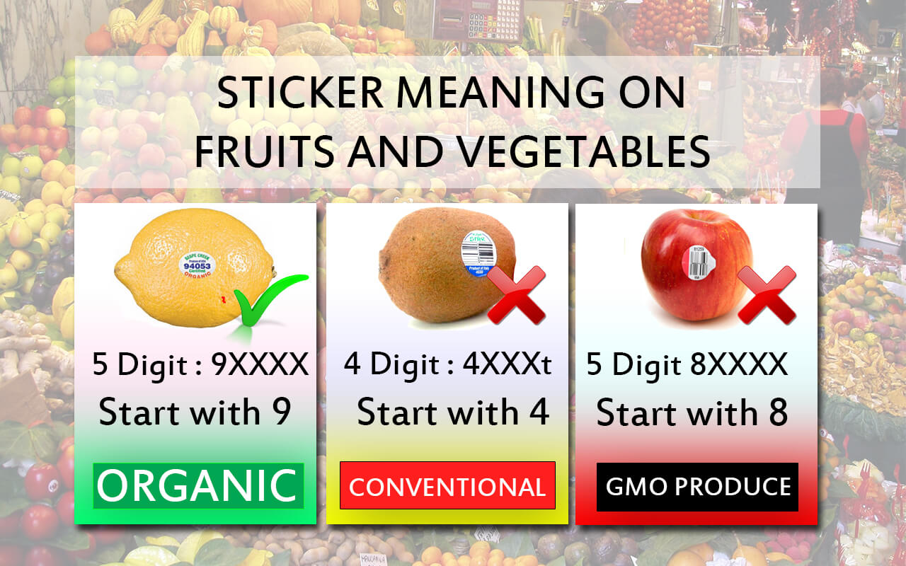 sticker-on-fruits-meaning