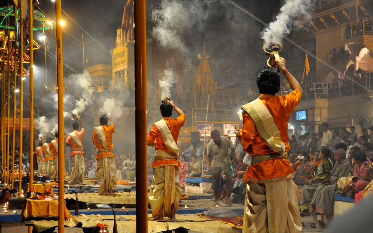 The Ganga Arti,Varanasi